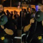 Moment emoționant. Unui polițist din Munchen îi dau lacrimile, când românii îi mulțumesc că i-a ajutat să voteze