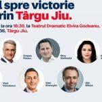 Candidații USR-PLUS, vineri, la Târgu-Jiu. Conferință de presă în aer liber