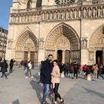 """Olguța Berbec a văzut pe viu incendiul de la Notre-Dame: """"Sărea cenușa pe noi, francezii plângeau pe stradă"""""""