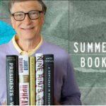 Bill Gates, recomandări de lectură pentru vara 2019