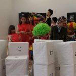 Daruri de la CJAS Gorj pentru micuții instituționalizați de la Târgu-Cărbunești