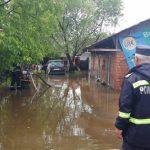 Târgu-Jiul, din nou sub ape. Pătrășcoiu: Când ploile depășesc 20 de l/mp, apar inundații