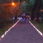 Mii de gulguțe au luminat Parcul Central