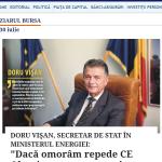 Vîlceanu, după SCENARIUL lui Vișan: Acest guvern este cel care va băga CE Oltenia în insolvență! Va preda SEN Rusiei!