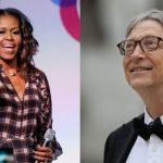 Michelle Obama şi Bill Gates, cei mai admiraţi oameni din lume