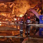 Incendiu la fostul club Bamboo din Mamaia. Localul s-a făcut scrum