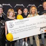 """Metallica a donat 250.000 de euro pentru spitalul oncologic pentru copii construit de asociaţia """"Dăruieşte viaţa"""""""