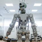 Robotul umanoid Fedor a ajuns pe Staţia Spaţială Internaţională şi a cerut scuze pentru întârziere