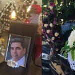 Jale mare la înmormântarea lui Marcel Toader. Fosta soție, fiul și mama, răpuși de durere