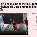 Corriere dello Sport: Pe tărâmul lui Dracula, Lazio nu îşi arată caninii