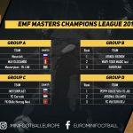 Peppy Dolce Vita, în grupa D la EMF Masters Champions League