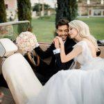 Nuntă ca în poveşti. Andreea Bălan s-a căsătorit cu George Burcea