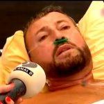 Primele imagini cu Cătălin Botezatu pe patul de spital, după ce a fost operat de cancer la colon