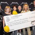 Suma uriaşă pe care a donat-o Metallica pe parcursul a 25 de concerte susţinute în Europa