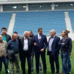 A sosit comisia de recepție! Romanescu vrea meci al NAȚIONALEI la inaugurarea STADIONULUI