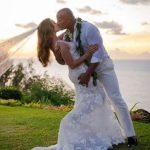 Dwayne «The Rock» Johnson, primele imagini de la nunta secretă din Hawaii