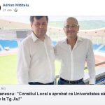 15:58 Mititelu: Vom juca pe noul stadion din Târgu-Jiu