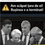 15:44 Postările liderilor PSD și PNL după căderea Guvernului Dăncilă