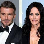 """David Beckham, alături de Courteney Cox într-un episod al serialului """"Modern Family"""""""