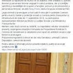 14:59 Florin Cârciumaru: Statutul personalului feroviar, votat în Senat