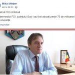 12:52 Weber: Gorjului i-au fost alocate peste 75 de milioane de lei pentru investiții