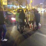 07:55 Lovită de mașină pe trecerea de pietoni