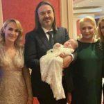 Invitați de seamă la botezul fetiței Alessandrei Stoicescu