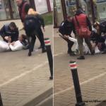 13:19 Intervenţie jenantă! Cum s-au chinuit doi polițiști să imobilizeze un bărbat