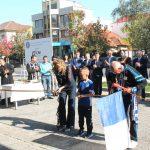 15:22 Constantina Diţă Tomescu a tăiat panglica noului Municipal. FOTO