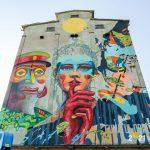 Cea mai mare pictură murală din România a fost creată la Timişoara