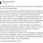 """14:31 Senatorul Cârciumaru, un nou atac la Iohannis: """"Doctului"""" îi este frică de o """"gospodină"""""""