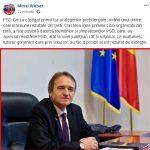 14:39 Mihai Weber: PSD Gorj, unul dintre cele mai bune rezultate din ţară