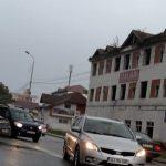 16:02 Tamponare pe Calea București. Trafic îngreunat