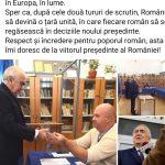 10:50 Florin Cârciumaru: Am votat cu inima