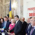 08:08 Ciolacu, președinte interimar PSD. Weber, vicepreședinte