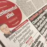 """""""Evenimentul Zilei"""", varianta tipărită, se închide de la 1 ianuarie"""