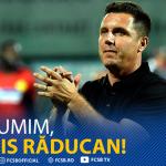 FCSB a anunţat pe site-ul oficial despărţirea de Narcis Răducan