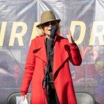 Jane Fonda a evitat a cincea arestare în timpul campaniei de proteste din Washington