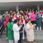 11:11 PROTEST la spitalul din Craiova. Cer medicamente și căldură