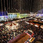 Târgul de Crăciun de la Sibiu a fost deschis oficial