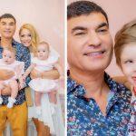 Primele imagini cu Cristi Borcea și cei trei copii, după ce a fost eliberat din  închisoare