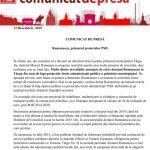8:36 PSD Gorj: Investițiile anunțate de Romanescu, ale fostei administrații