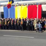 12:25 Paradă impresionantă de 1 Decembrie la Târgu-Jiu