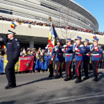 Paradă impresionantă de 1 Decembrie. Marcel Romanescu: N-a fost niciodată o astfel de manifestare la Târgu-Jiu!