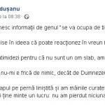 09:32 Secretarul general al PSD Gorj susține că ar fi fost AMENINȚAT