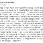 """10:19 Pănescu, după ședința Pro România de la Rânca: """"Să ne arate concret ce au făcut pentru cetățenii Gorjului în acest mandat!"""""""