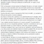 10:58 Denisa Șuță: PSD-iștii și-au pus în gând să distrugă definitiv Spitalul Județean!