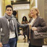 Ce elegant a devenit fiul Mihaelei Rădulescu. Are 15 ani și se mândrește cu bunica pe Instagram