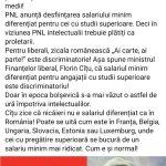 10:16 Florin Cârciumaru: PNL desființează salariul minim pentru studii superioare! Intelectualii plătiți ca proletarii!