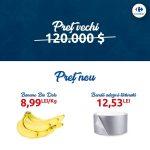 """""""Un pic de artă în fiecare casă"""", campanie de marketing Carrefour, după vânzarea record a unei banane lipite cu bandă adezivă la Art Basel"""
